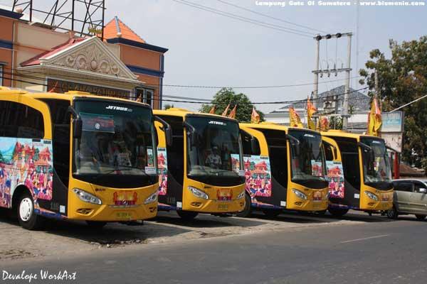 Bus Siger Kencana Lampung